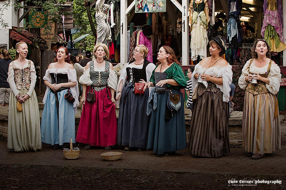 Michigan Renaissance Festival.  Photo by Russ Turner.