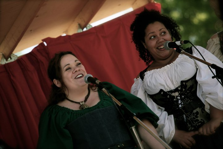 Jenn B and Shannon, Country Renaissance Festival.